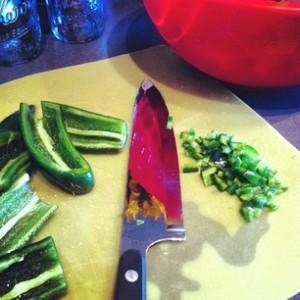 week 4 chopped jalapenos